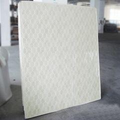 硬棕床垫护腰椎椰棕床垫1.8米1.5米1.2米硬乳胶棕榈薄 雨生家具 乳白色 1500mm*2000mm
