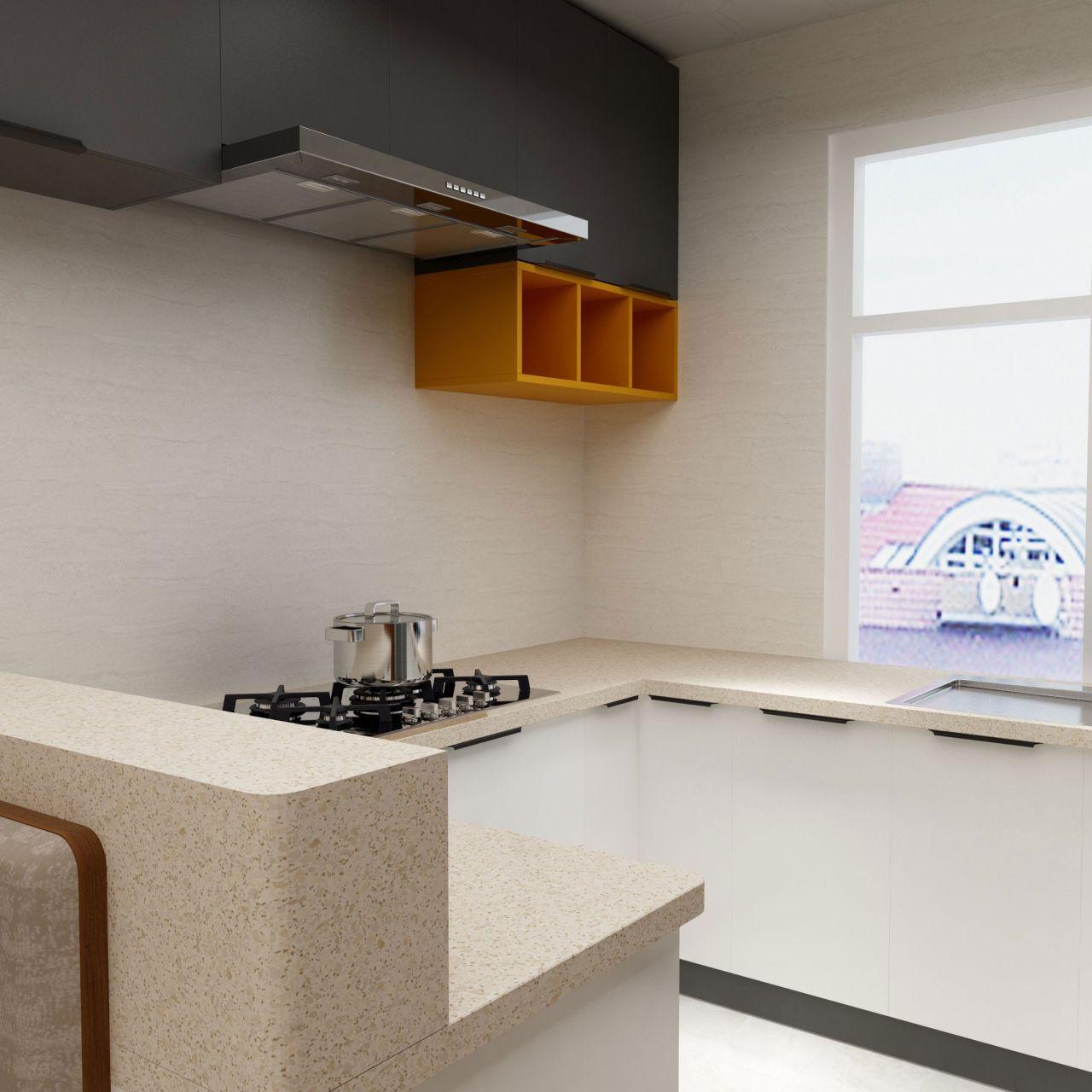 原木物语厨房整装套系 每平
