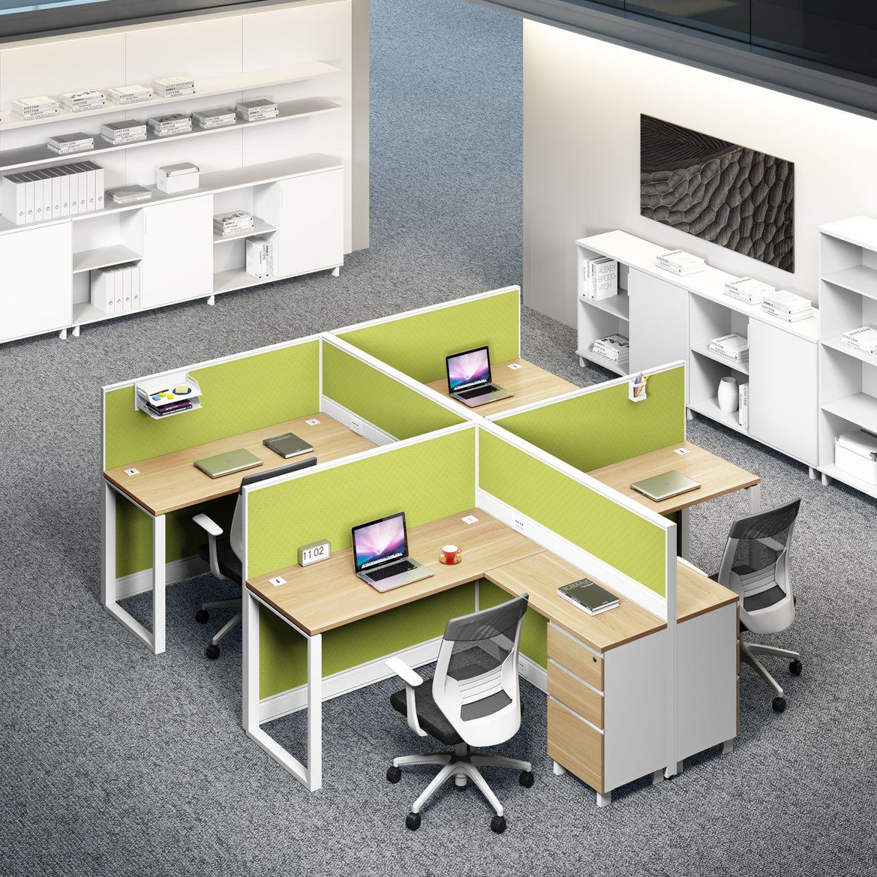 钢架办公桌